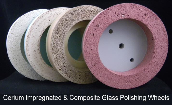 CeriumImpregnated&CompositeGlassPolishingWheels
